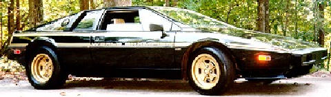 Lotus Esprit Black (1979)