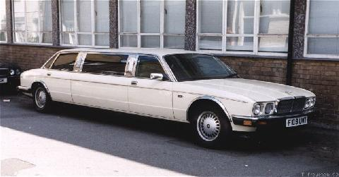 London1999. 1988 Jaguar Xj40 Limo
