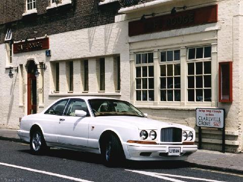 London1999. 199x Bentley Continental R, White, 800x600
