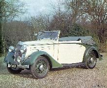 Vauxhall Dx 14hp Drophead Coupe (1936)