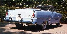 Plymouth Belvedere Convertible Rear (1954)