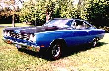 Plymouth Road Runner Coupe Blue (1969)