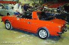 Lancia Beta Spider Zagato 1977 Side