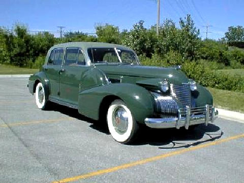 Cadillac 60 Special Sedan Green Fvr (1939)