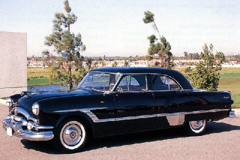 Packard Patrician Derham Custom Formal Sedan (1953)