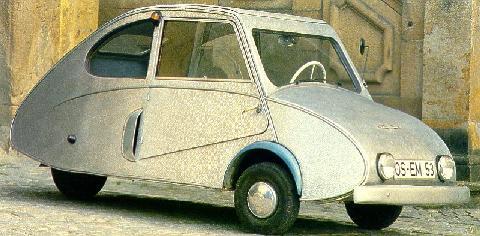 Fuldamobil Nwf 200 Coupe (1954)