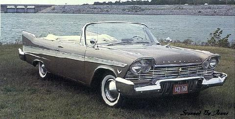 Plymouth Belvedere Convertible (1957)