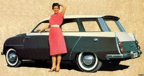 Saab 95 Break (1960)