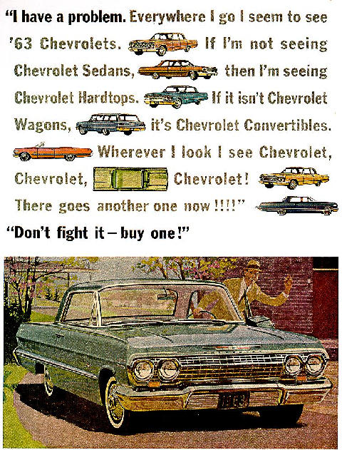 Chevrolet Impala Sport Coupe Advertmax (1963)