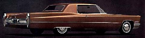 Cadillac Calais Coupe Brown Rvrwo(1967)