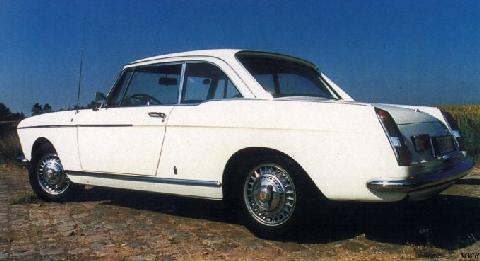 Peugeot 404 Coupe Injection (1967)