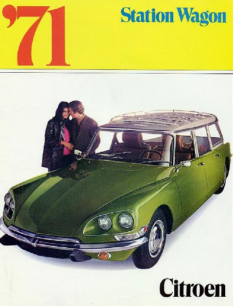 Citroen 4d Station Wagon (1971)