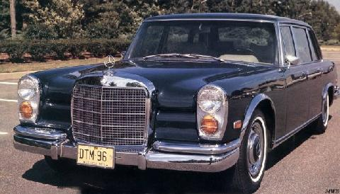Mercedes Benz 600 Us Version (1971)