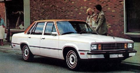 Ford Fairmont 4 Door Accent 1 (1979)