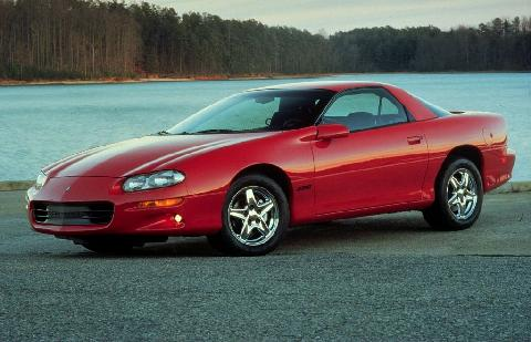 Chevrolet Camaro Z28, Red (1998)