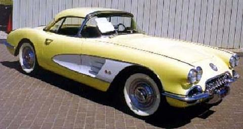 vette Yellowwhite (1958)