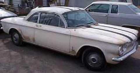 corvair White (1962)