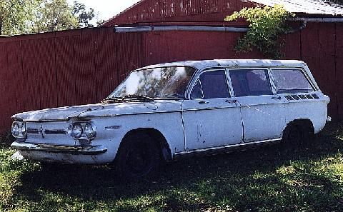 Old Iron 1962 Corvair Station Wagon