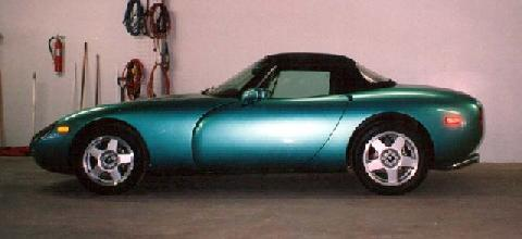 TVR Aqua Griffith Side