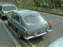 MGB GT (Rear view)