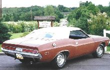 Dodge Challenger Convertible (rear/side view)