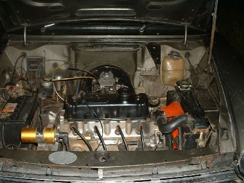 Austin 1800 Mk 2, single Carb. engine