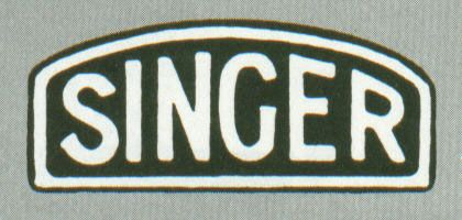 Singer Badge