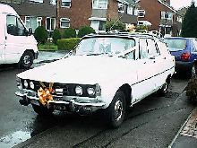 Rover 2200TC Estate or Estoura. All of the P6 Estates were conversions carried out on saloons.