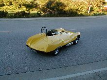 A restored 207A Boano Spyder owned by Dan Kolodziejski