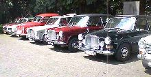 Group of Vanden Plas 1100/1300s