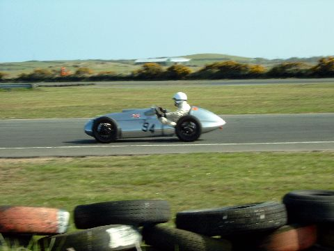 Emeryson JAP 500 pictured at Kirkistown Racing Circuit, 5th April 2003