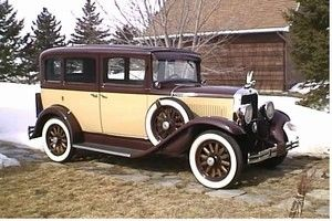 Dodge 1930 Model DD