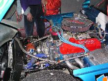 TVR Griffith's engine (COBRA powered by Ford)
