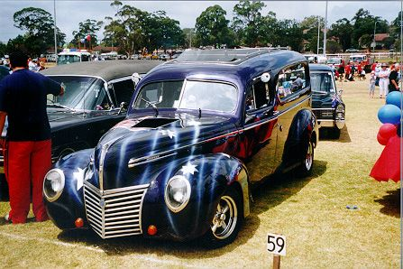 this is my 1949 mercury hearse , i would love to find out the history of where it was built,oh yep sorry body only mercury these days . but looks hot aye ?