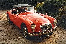 MGA 1600 MkII, Nov. 1961, Export RHD (159 built) GHN2 104292