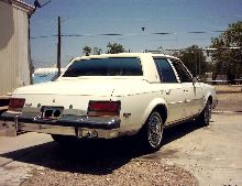 This is a 1981 Buick Century Limited. With a V6 3.8 L Engine.