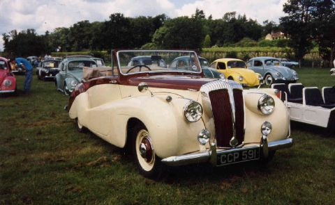 Daimler DB18 Special Sports by Barker