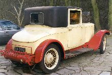 1927 Daimler 20/70 model Q with bodywork by Sanderson & Holmes, Derby. Now under restoration.