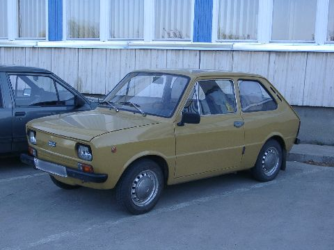 Fiat 133 from 1975.