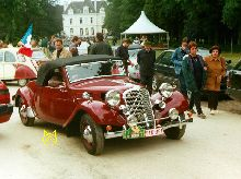 Traction Avant 15 Cabriolet