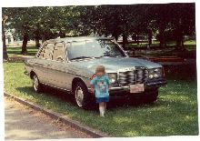 this picture is of my 1980 mercedes 280E...