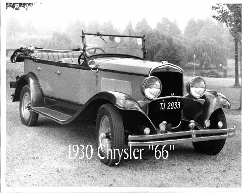 Yes Iknow it is a 1930 CHRYSLER BUT A 66 from South Africa Iam the second owner family of this car since new, the original owner purchased the car in JOHANNESBURG ZA