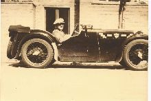 This pic. is taken of my grandfather when the car was new in 1932, I am the owner to-day