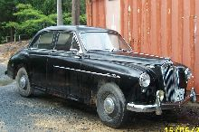 The car is still in use its a 1954 Wolseley 4/44