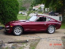 its a marone 240z dont know what year it is