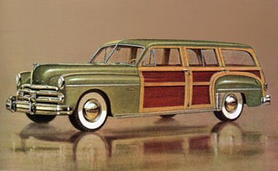 1950 Dodge Coronet Woodie Wagon