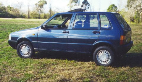 1983 Fiat Uno 70 S - (1300cc, 5 speed) - owned by me from 2000 to 2001 in Sydney, Australia