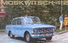 This is a Moskvich 412. Made in Russia. He is a beautiful machine!