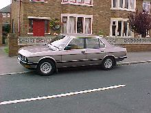 Taken 12 months ago its a 1987 525e with 161k on the clock and still runs smooth.Luxor beige metallic.