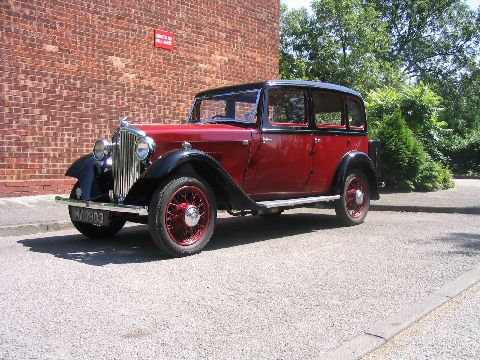 1932 ROVER 10 SPECIAL SALOON